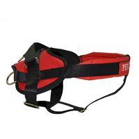 Σαμάρι Κ9 υψηλής αντοχής, μεταλλικό clip, μαξιλάρι στήθους και ράχης για 30kg