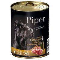 Piper Adult Καρδιά Κοτόπουλου & Καστανό Ρύζι  800gr (5 τεμάχια)