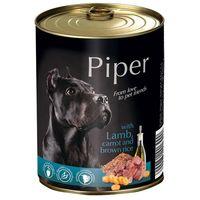 Piper Adult αρνί & Καρότο & Καστανό Ρύζι 800gr (5 τεμάχια)