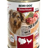 Bewi Dog Meat Selection Pate Πουλερικά 6x400gr