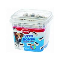 Sanal Vita Bones cup -  Chicken & Beef 100gr