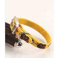 Περιλαίμιο PVC Yellow mouse 1.0 x 20/25cm