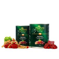 Nuevo Adult Κρέας ελαφιού με νουντλς, κόκκινο μύρτιλλο και ζαφορέλαιο 400gr