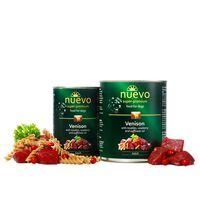 Nuevo Adult Κρέας ελαφιού με νουντλς, κόκκινο μύρτιλλο και ζαφορέλαιο 800gr