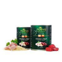 Nuevo Junior Κοτόπουλο & Βοδινό με ρύζι + ασβέστιο 800gr