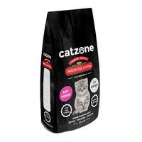 Άμμος γάτας Catzone Clumping -Με άρωμα Πούδρα 10Kg