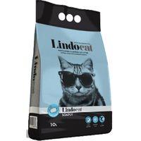 Άμμος γάτας Lindocat - clumping soaply 10kg με άρωμα φρεσκάδας