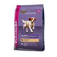 Eukanuba Puppy All Breed Αρνί και Ρύζι 12Kg