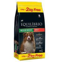 Equilibrio Adult Dogs 12Kg + ΔΩΡΟ 2kg