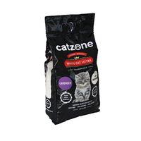 Άμμος γάτας Catzone Clumping -Με άρωμα Λεβάντα 10Kg