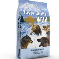 Taste of the Wild Pacific Stream Canine με καπνιστό σολομό 2Kg
