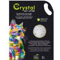 Crystal Άμμος Σιλικόνης με άρωμα Πράσινο Μήλο 5L (Μακράς Διάρκειας)