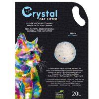 Crystal Άμμος Σιλικόνης με φυσικό άρωμα 20L (Μακράς Διάρκειας)