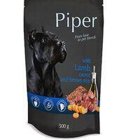 Piper Adult Αρνί & Καρότο & Καστανό Ρύζι Pouch 500gr