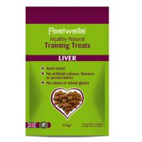 Feelwells Training Treats Liver Λιχουδιές σκύλου 115gr