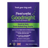 Feelwells All in One Goodnight  Duck & Oats Oven Baked Λιχουδιές σκύλου 130gr