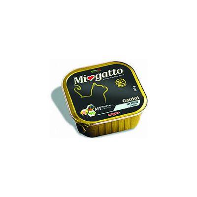 Δισκάκι MIOGATTO Kitten βοδινό 100gr (Συσκ. 5τμχ)