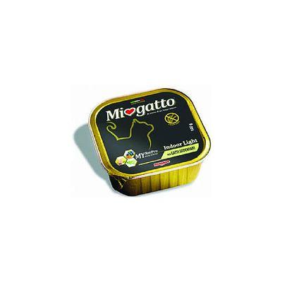 Δισκάκι MIOGATTO Adult Indoor Light 100gr (Συσκ. 5τμχ)