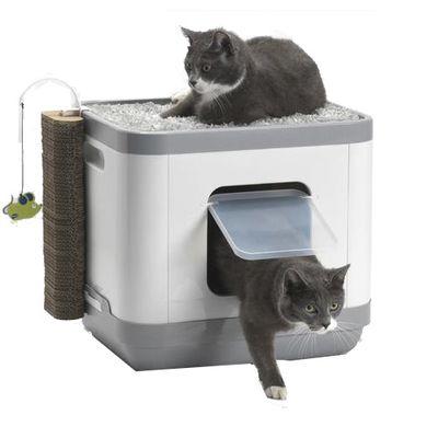 Κλειστή τουαλέτα γάτας 3 σε 1 Catconcept