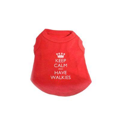 T-Shirt Keep Calm Small Διαστάσεις 25cm X 18cm