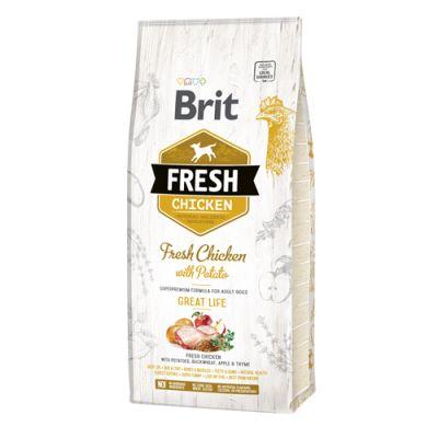 Brit Fresh Chicken Adult Great Life 12kg