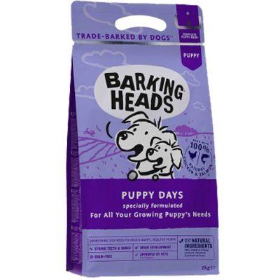 Barking Heads Puppy Days Chicken & Salmon 2kg + ΔΩΡΟ Λάδι σολoμού 100ml