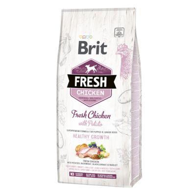 Brit Fresh Chicken Junior Healthy Growth 12kg