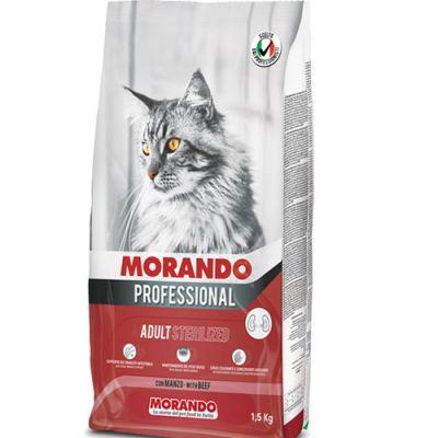Morando Professional Cat Sterilized Βοδινό 1.5kg