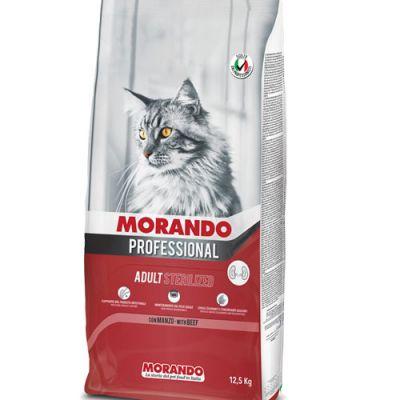 Morando Professional Cat Sterilized Βοδινό 12.5kg