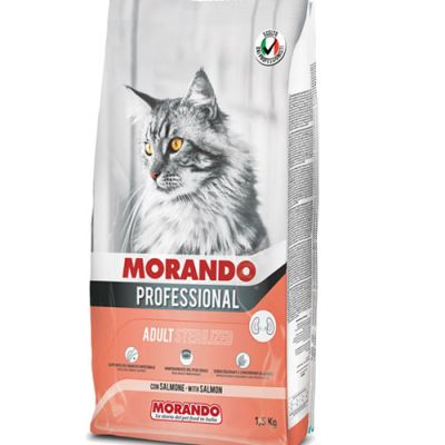 Morando Professonal Cat Sterilized Σολομός 1.5kg