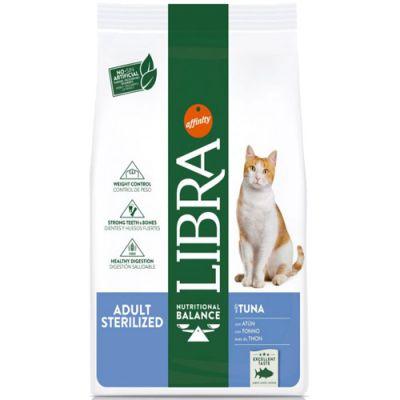 Libra Cat Adult Sterilized Τόνος 10kg