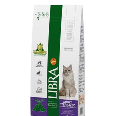 Libra Cat Adult Sterilized Κοτόπουλο 10kg